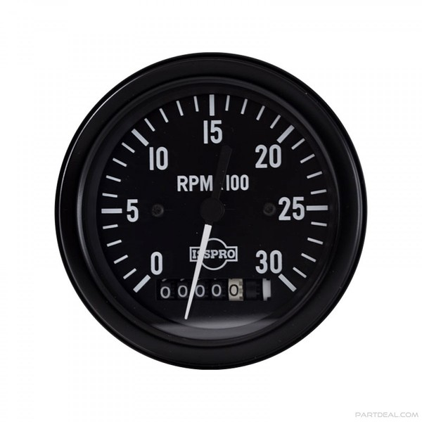 Mechanical Tachometer With Hour Meter Gauge : R mechanical aircraft tach