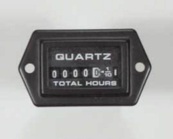 Hour Meters Panel : Hour meter gauge rectangular
